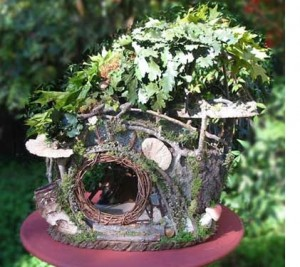 Minature fairy garden