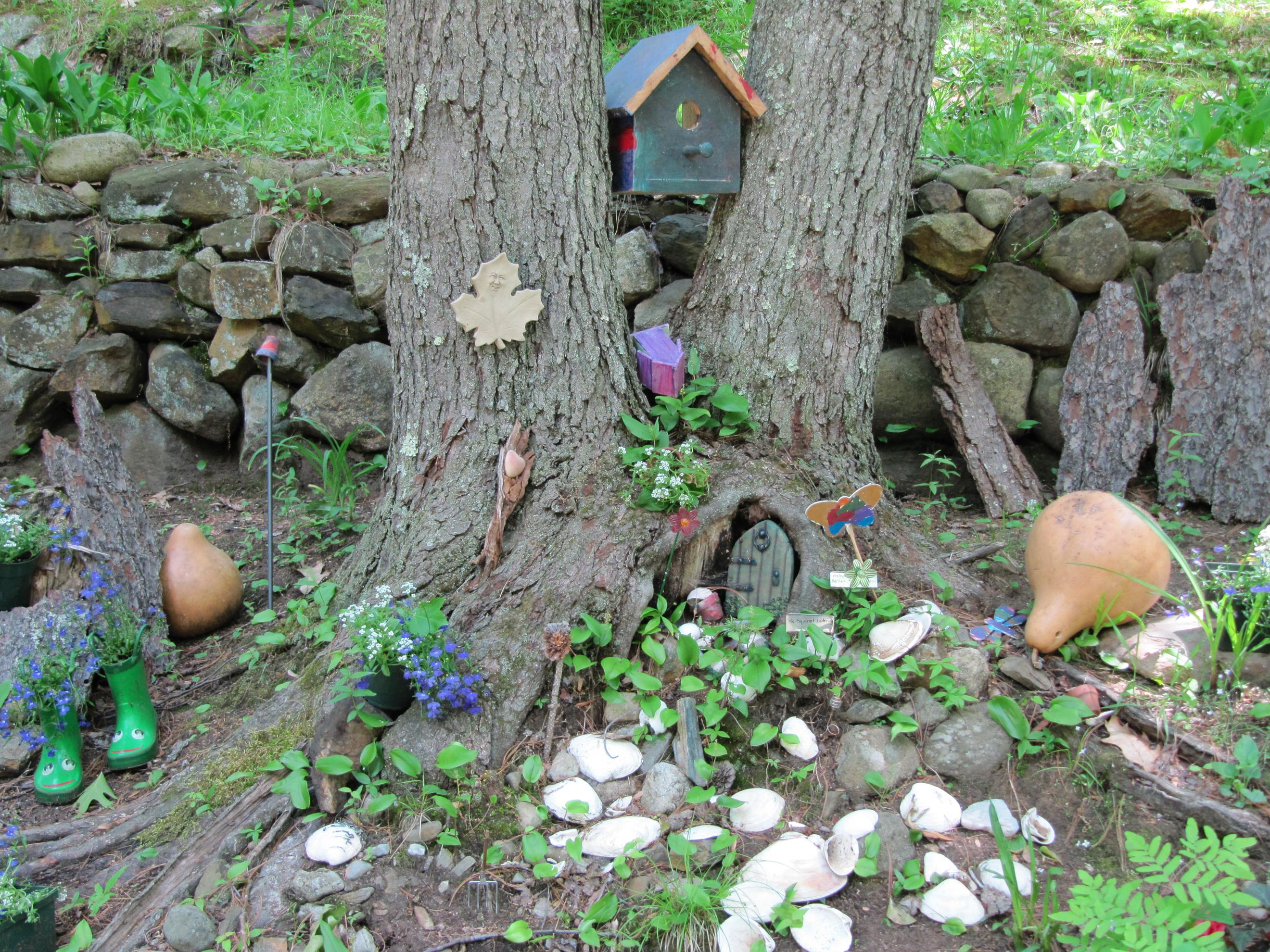 Reliving childhood with fairy garden Small garden fairies